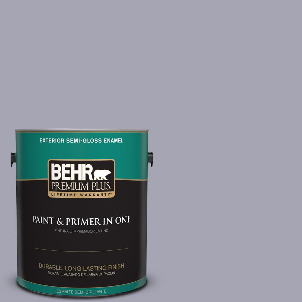 BEHR Premium Plus 1-gal. #T12-3 Canyon Sunset Semi-Gloss Enamel Exterior Paint