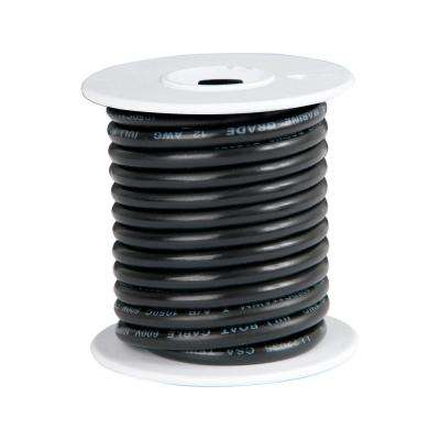 14 AWG 18 ft. Primary Wire Spool, Black