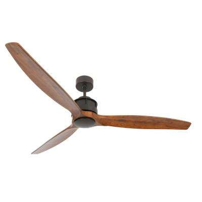 Lucci Airfusion 60 in. Akmani Oil Rubbed Bronze DC Ceiling Fan