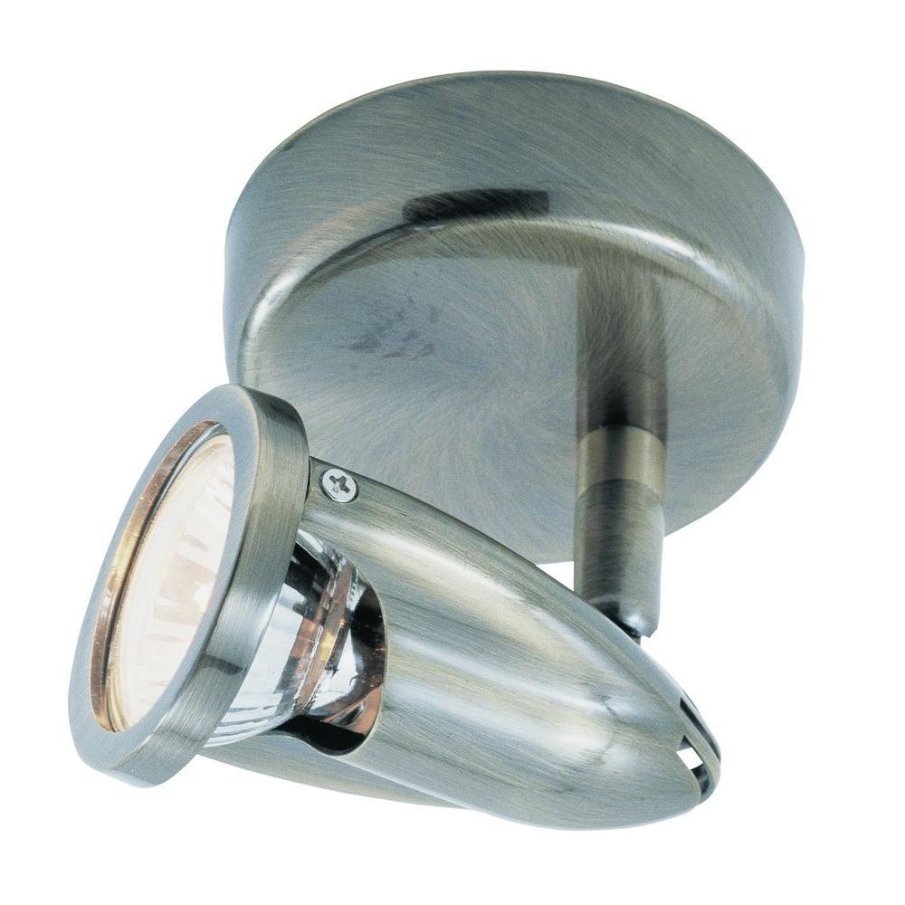 1-Light Brushed Nickel Track Light