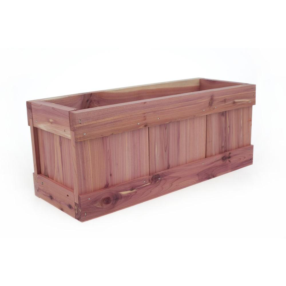 Pennington 6 25 In X 15 In Wood Planter Window Box 100513364 The