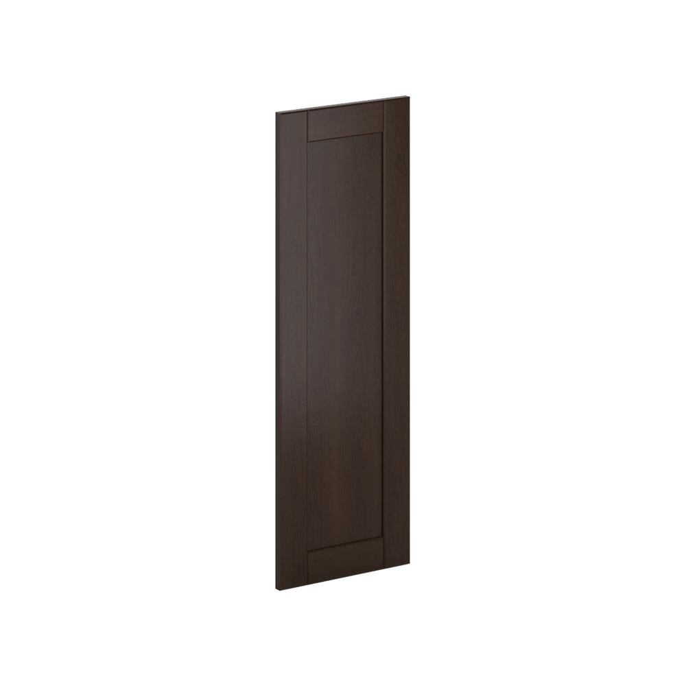 12x36x0.75 in. Princeton Wall Deco End Panel in Java