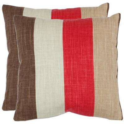 Corey Textures and Weaves Pillow (2-Pack)