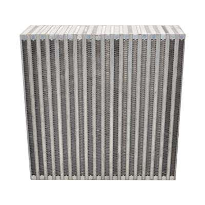 Vertical Flow Intercooler Core 12in. W x 12in. H x 3.5in. Thick