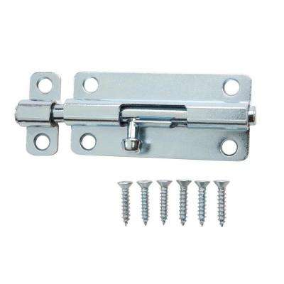 3 in. Zinc-Plated Barrel Bolt