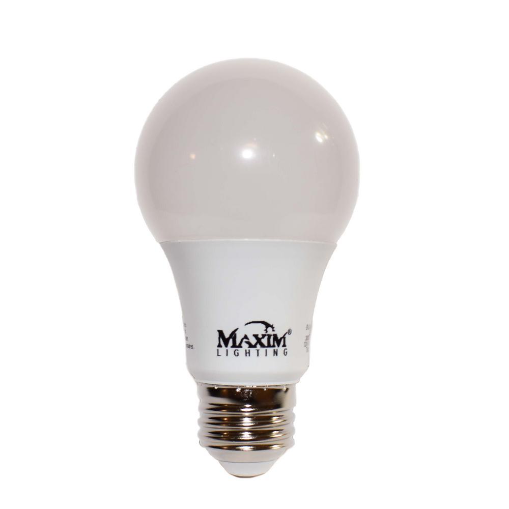 Maxim Lighting 100-Watt Equivalent E26 Soft White LED Light Bulb
