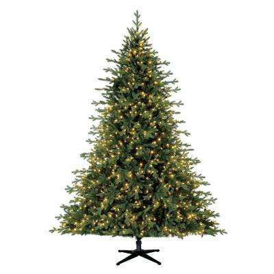 7.5 ft. Pre-Lit LED Northern Gale Spruce Artificial Christmas Tree with 1000 SureBright Color-Changing Lights