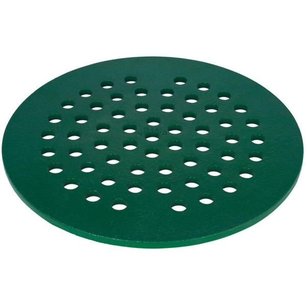 5 in. Replacement Cast Iron Floor Drain Cover in Green
