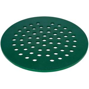 7 in. Replacement Cast Iron Floor Drain Cover in Green