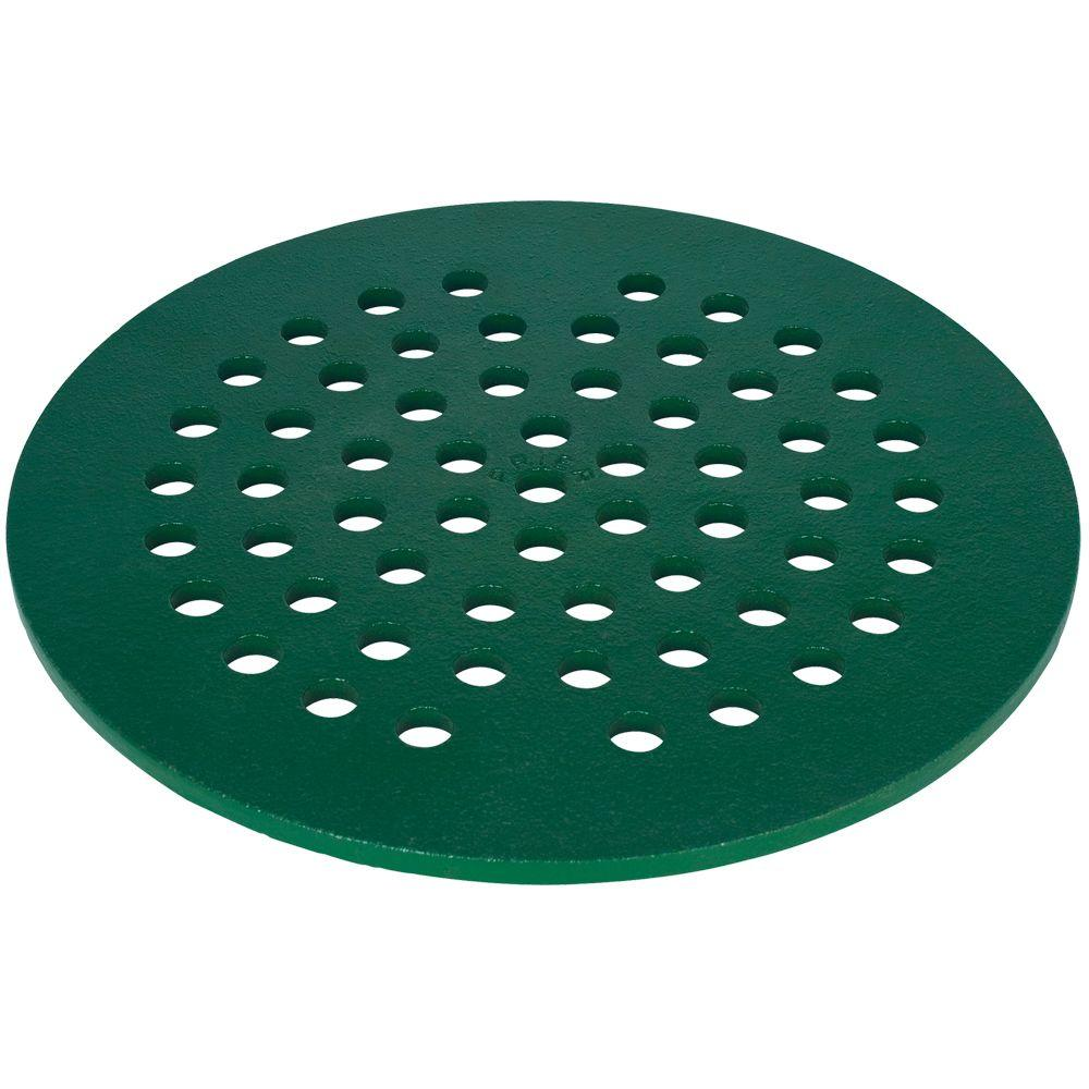 Prier Products 7 in. Cast Iron Drain Cover