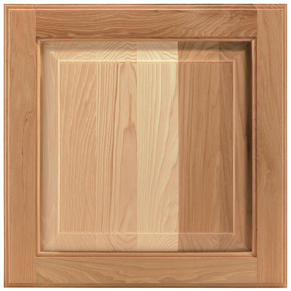 American Woodmark 14-9/16x14-1/2 in. Cabinet Door Sample in Charlottesville Hickory Natural