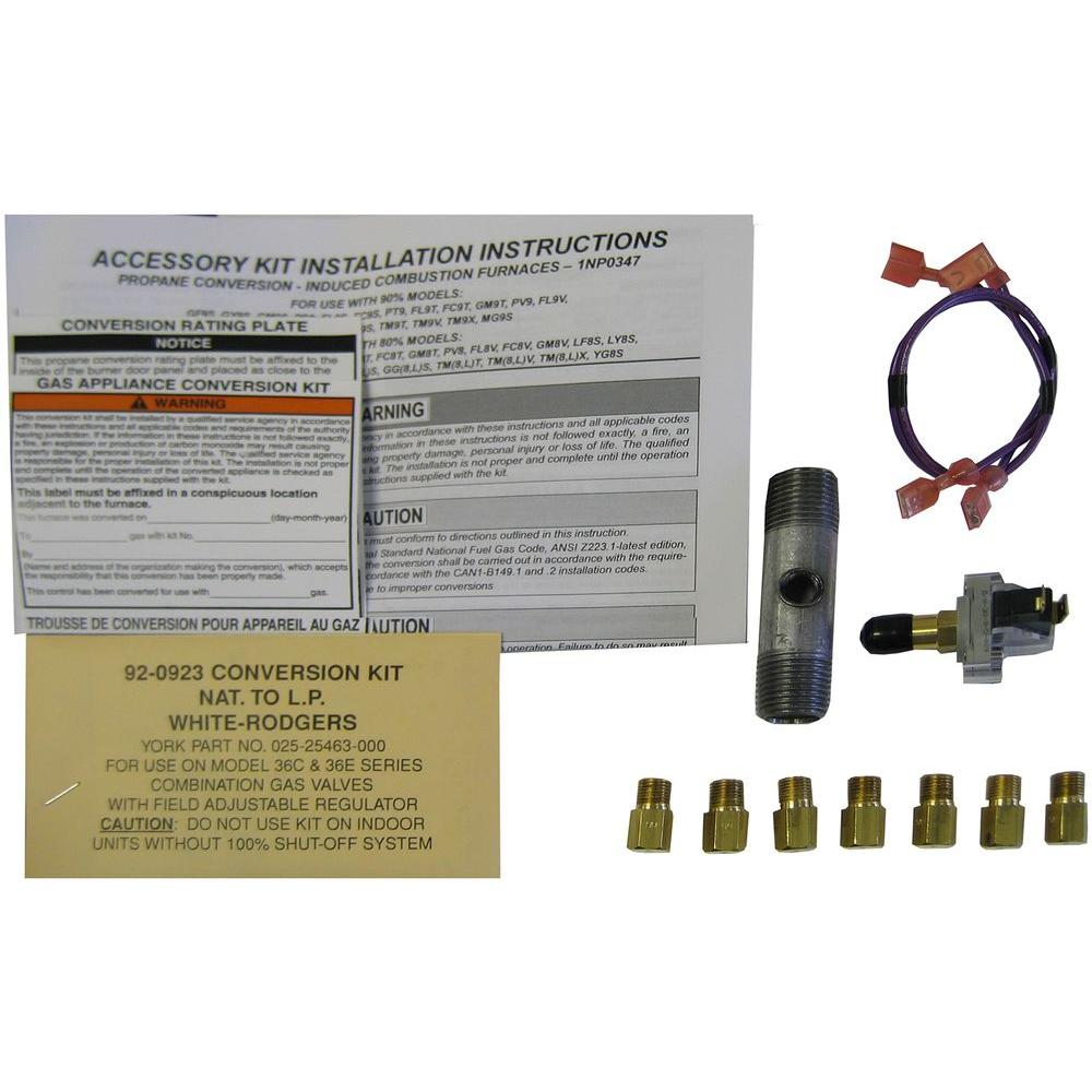 Winchester Gas Furnace LP Conversion Kit AccessoryLP 347 The