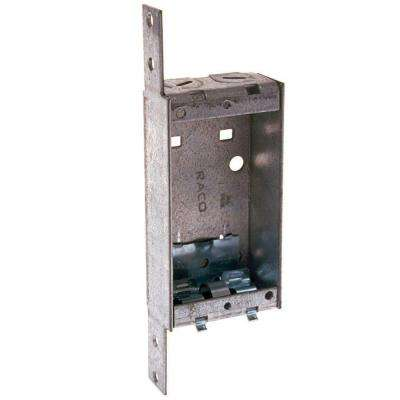1 in. Deep Single-Gang Switch Box with NMSC Clamps and Bracket 1/4 in. Set Back (25-Pack)