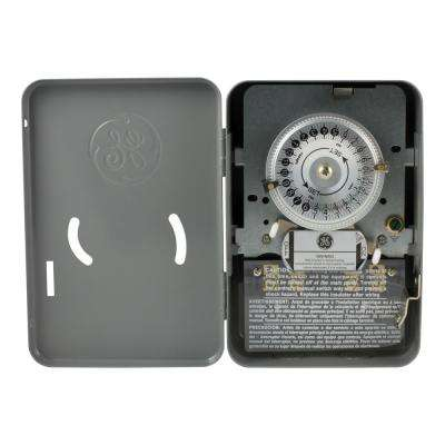 24-Hour Heavy Duty Indoor Mechanical Water Heater Switch Timer