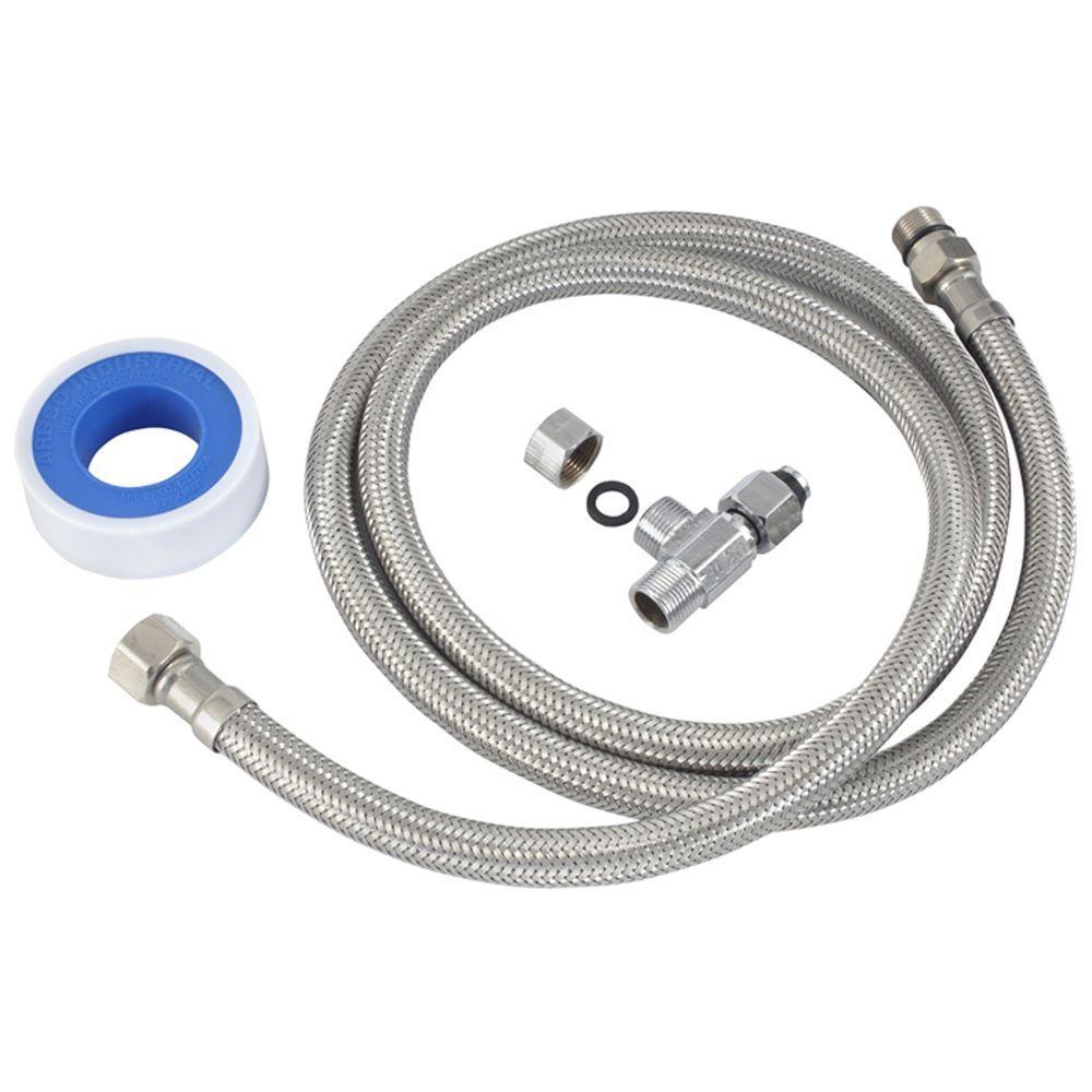 Attachable Bidet Hot Water Installation Kit