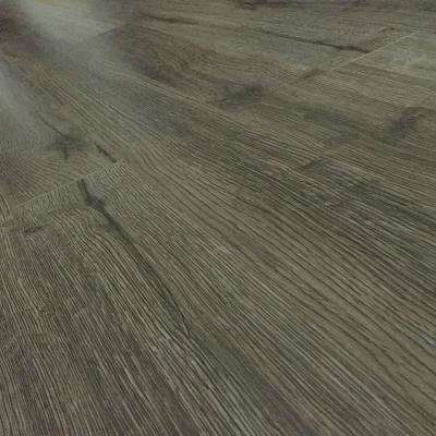 Grey Coal Oak 12 mm Thick x 4.96 in. Wide x 48 in. Length Click-Locking Laminate Flooring Plank (16.48 sq. ft. / case)