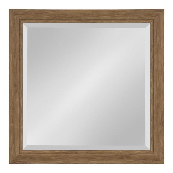 Dalat Rectangle Brown Wall Mirror