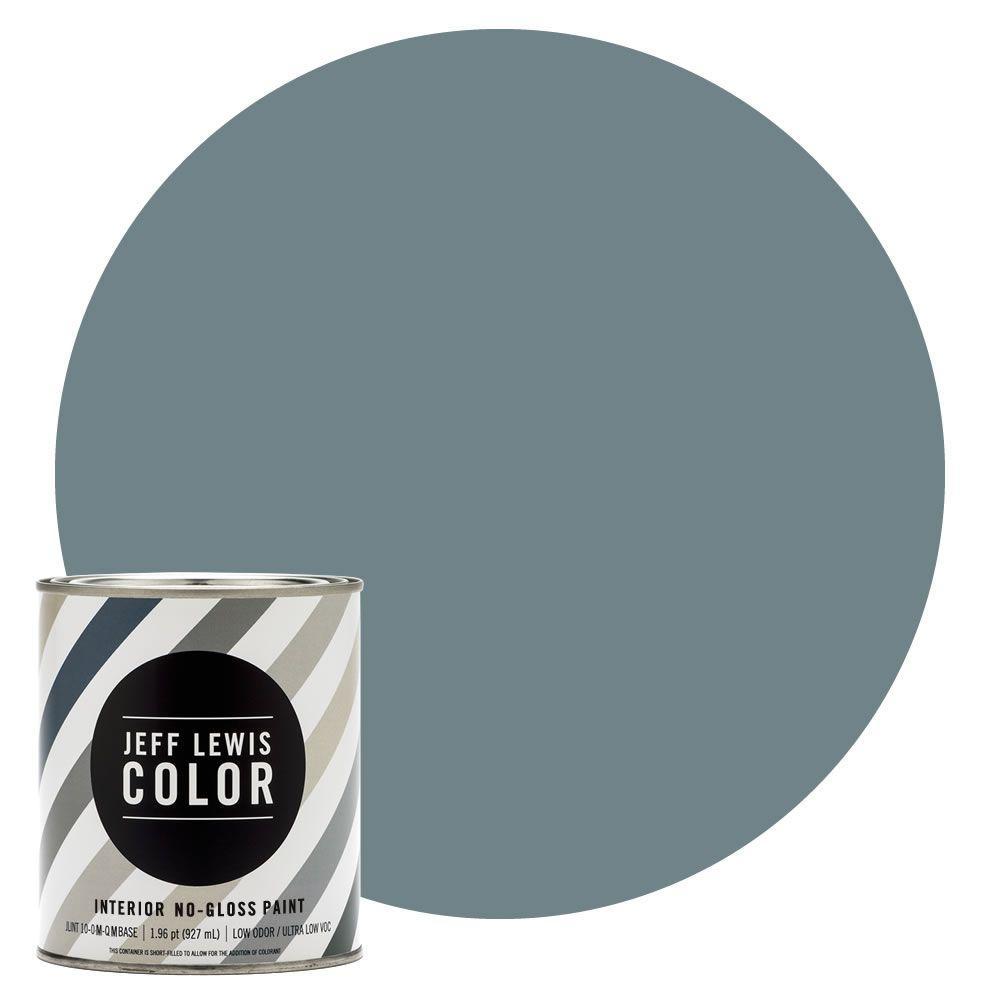 Jeff Lewis Color 1-qt. #JLC313 Skinnydip No-Gloss Ultra-Low VOC Interior Paint