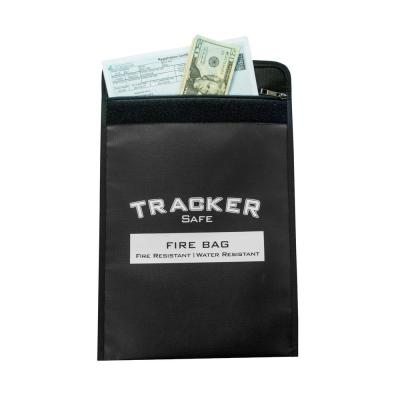 15 in. x 11 in. x .5 in. Fire and Water Resistant Bag for Security Safes - Small