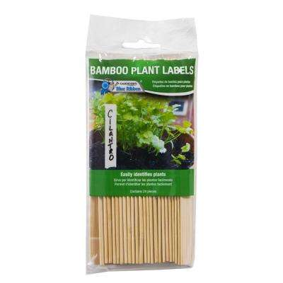 6 in. Bamboo Plant Labels (24-Pack)