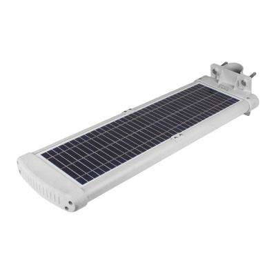 33.33-Watt Silver Motion Activated Outdoor Integrated LED Landscape 3000 Lumens Flood Light with Solar Power