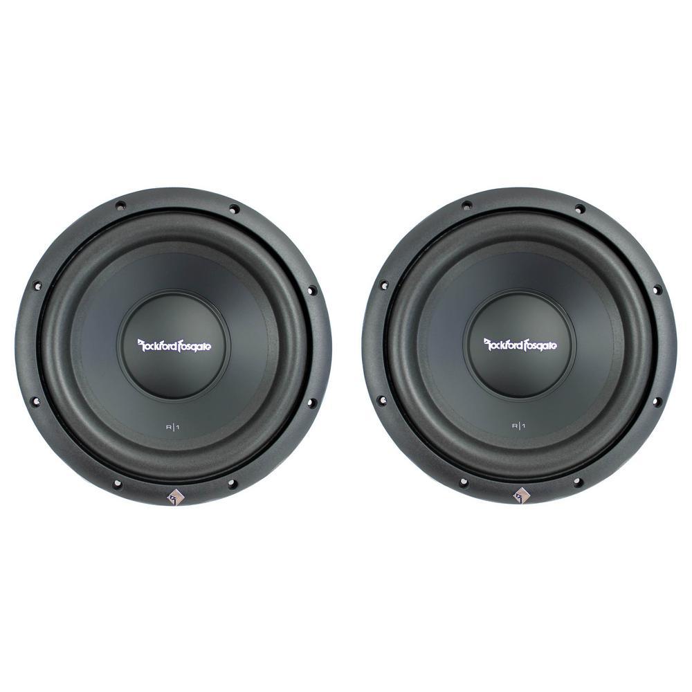 Prime 10 in. 800-Watt 4 Ohm Car Audio Subwoofers Subs (Pair)