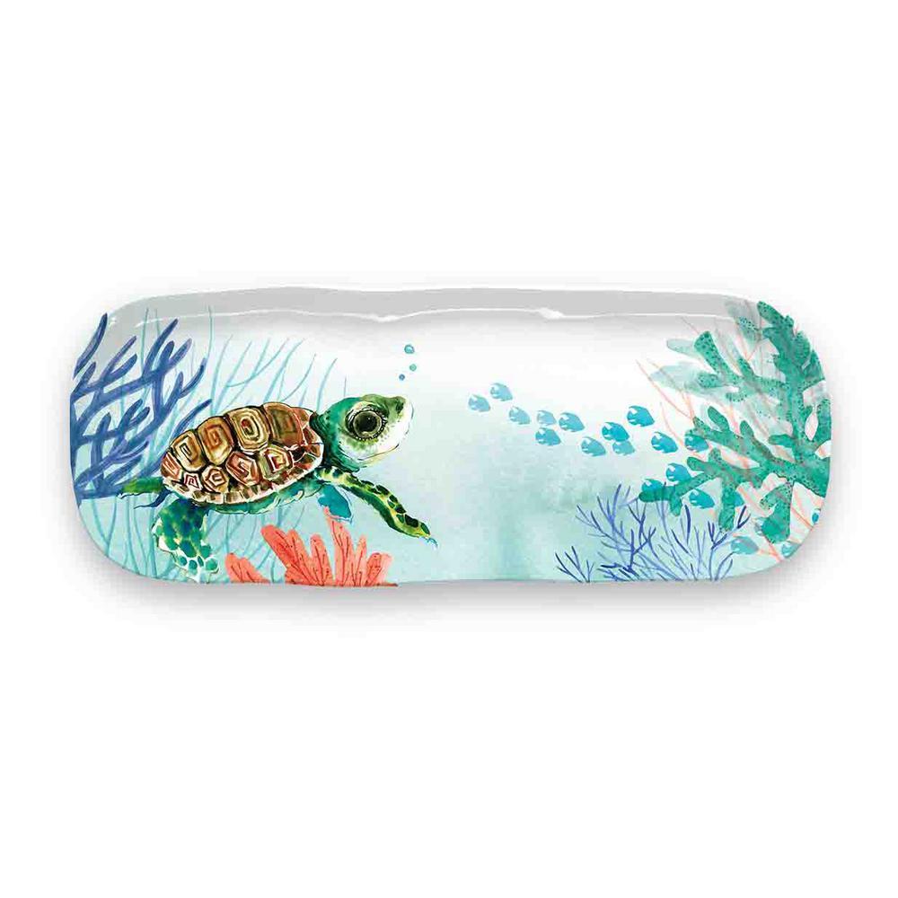 Sea Life Melamine Appetizer Tray
