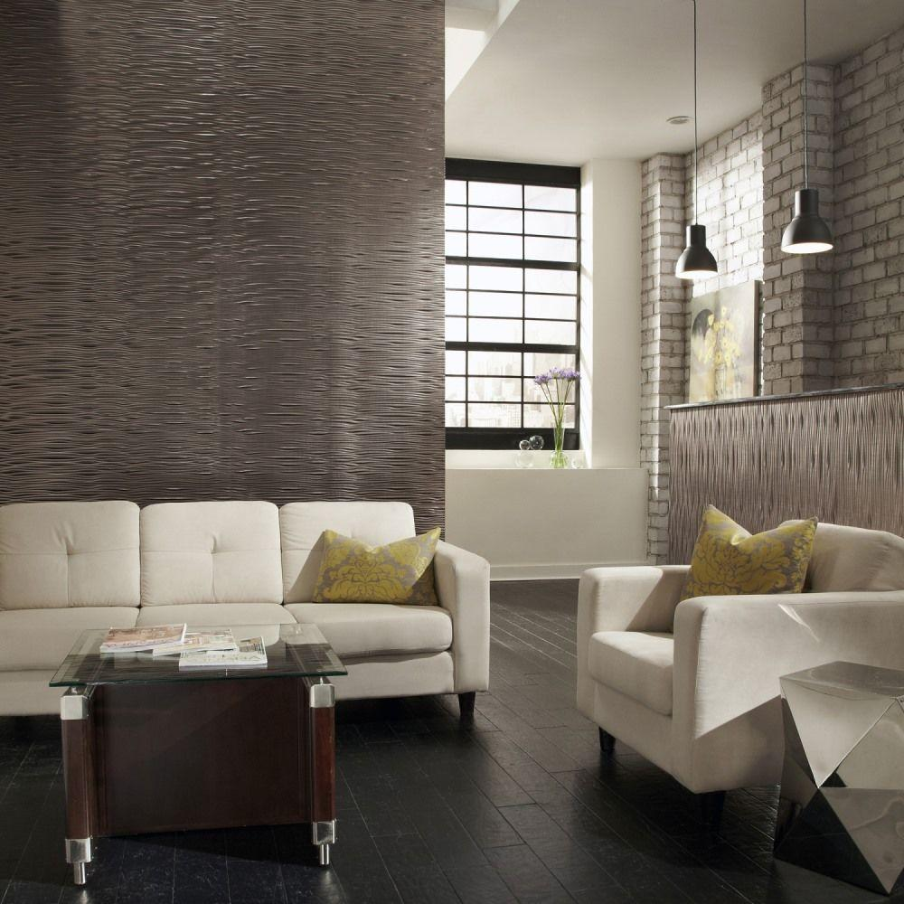 Wall paneling in the interior - 25 photos