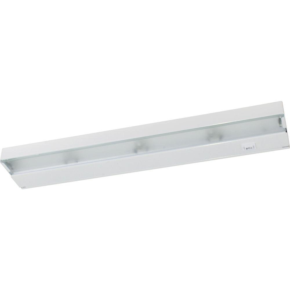 Hide-a-Lite III Collection 3-Light White Under Cabinet Fixture