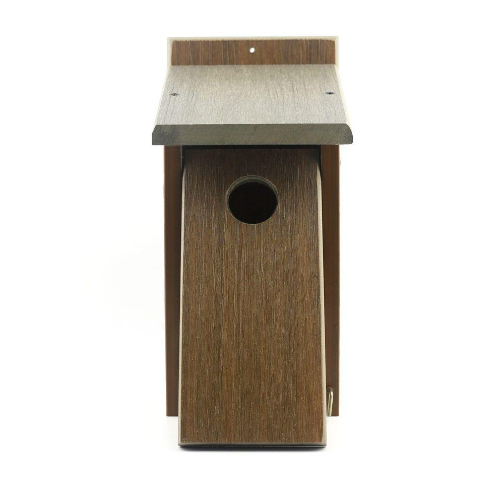 Newtechwood Nature S Friend Recycled Composite Birdhouse Feeder Bird