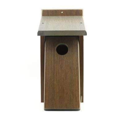 Nature's Friend Recycled Composite Birdhouse Feeder