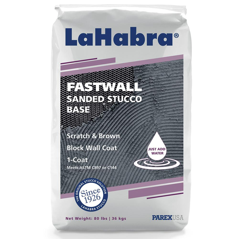 LH Fastwall Stucco Base Sanded SW 80 lbs.
