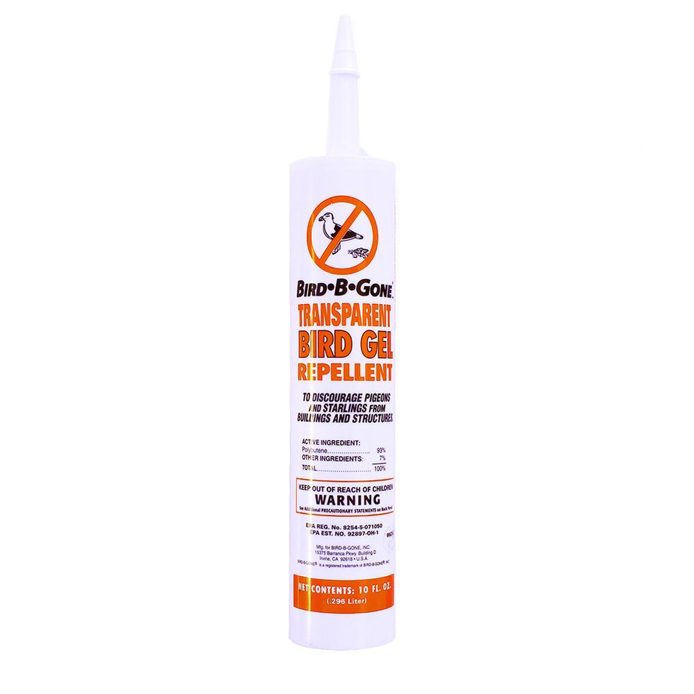 Bird B Gone 10 oz  Bird Repellent Gel Transparent