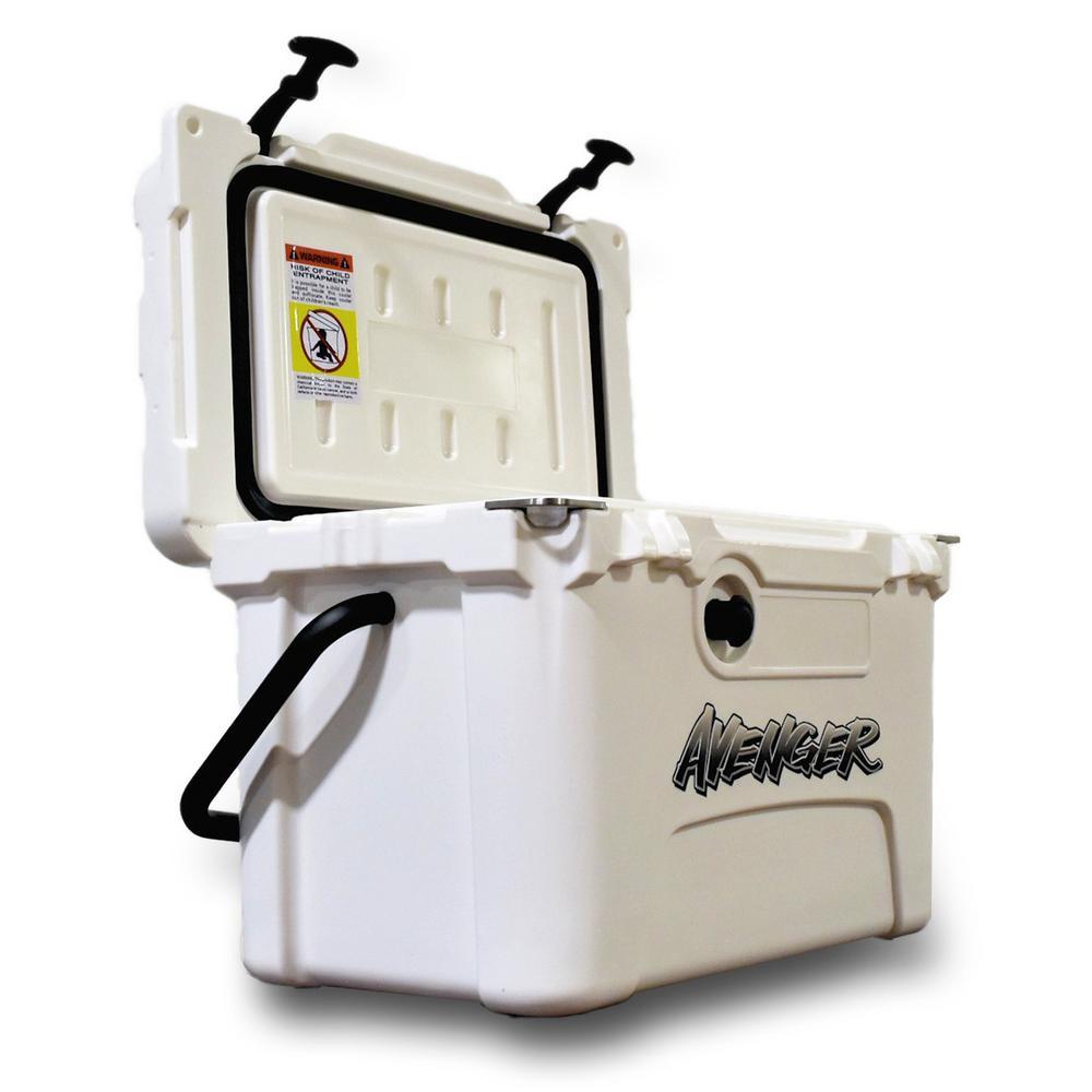 20 Qt. Arctic White Cooler