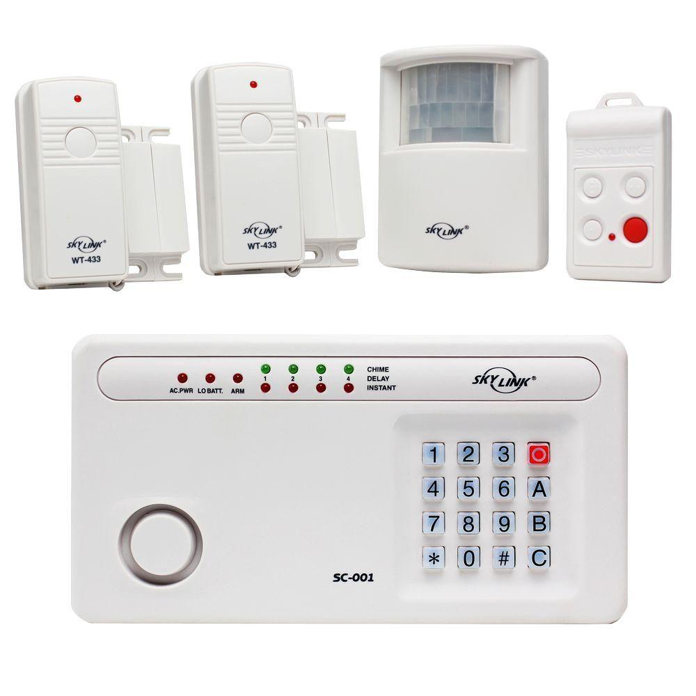 Skylink Wireless Security System Alarm Kit Sc 100