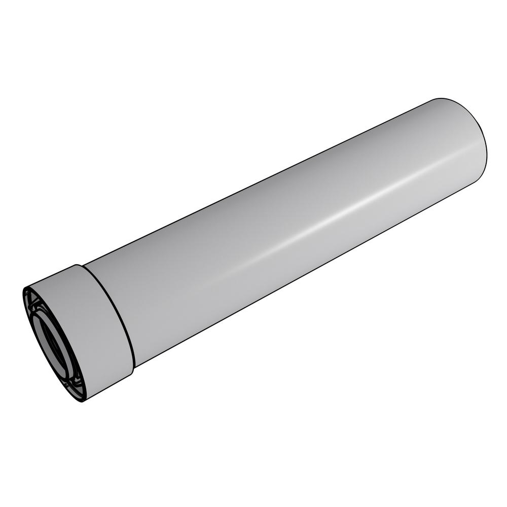Rinnai 2 In 4 In X 19 5 In Plastic Condensing Vent Pipe Extension Kit 229309npp The Home Depot