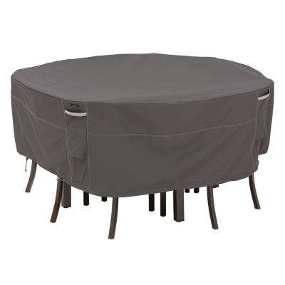 Ravenna XL Round Outdoor Table and Chairs Cover Premium Durable and Water Resistant Outdoor Patio Cover