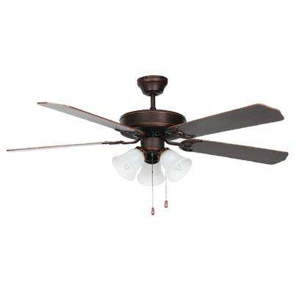 Heritage Home Series 52 in. Indoor Oil Bronzed Ceiling Fan