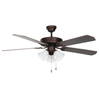 Heritage Home Series 52 in. Indoor Oil Bronzed Ceiling Fan