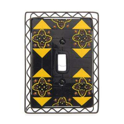 seville 1 toggle wall plate