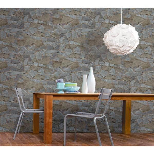 Stanley Slate Stone Wallpaper Sample