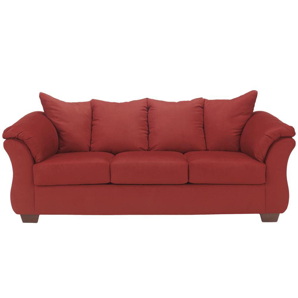 Signature Design By Ashley Darcy Salsa Fabric Sofa