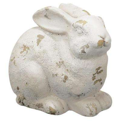 11 in. Magnesia Rabbit Statue