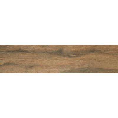 Botanica Cashew 6 in. x 36 in. Glazed Porcelain Floor and Wall Tile (12 sq. ft. / case)