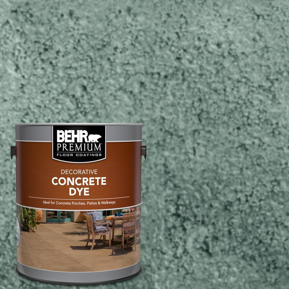 BEHR Premium 1 gal. #CD-822 Emerald Pool Interior/Exterior Concrete Dye