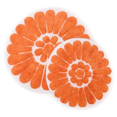 Orange Bath Mats Bedding