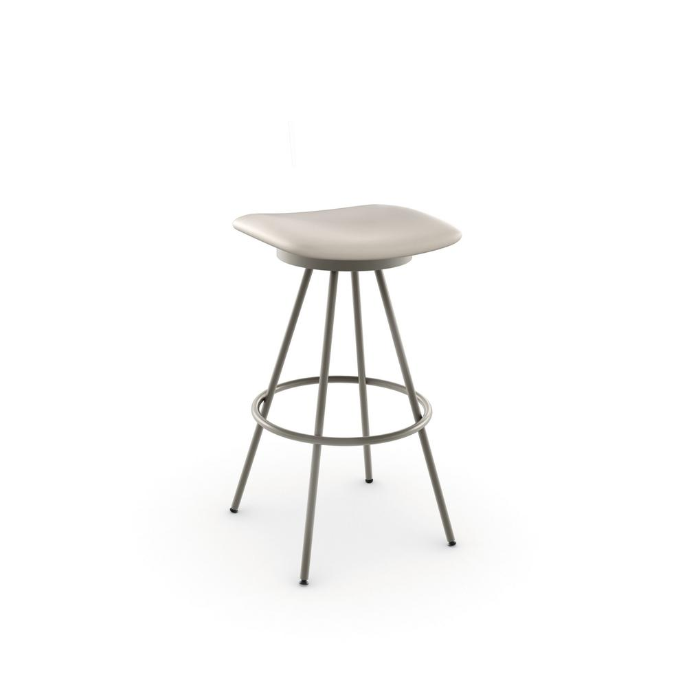 Amisco Beacon 30 In Matt Light Grey Metal Beige