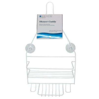 Hanging Over-the-Shower Caddy in White