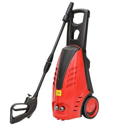2030 PSI 1.76 GPM Heavy-Duty Electric High Pressure Washer and 2000-Watt Jet Sprayer