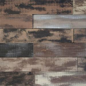 Nuvelle Deco Planks Weathered Brown 1 2 In Thick X 4 In